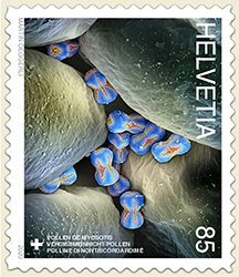 Stamps for Swiss Post